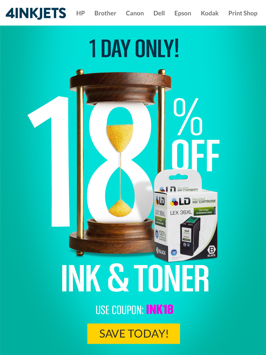 4inkjets | One Day Sale Promotional Campaign Design ...
